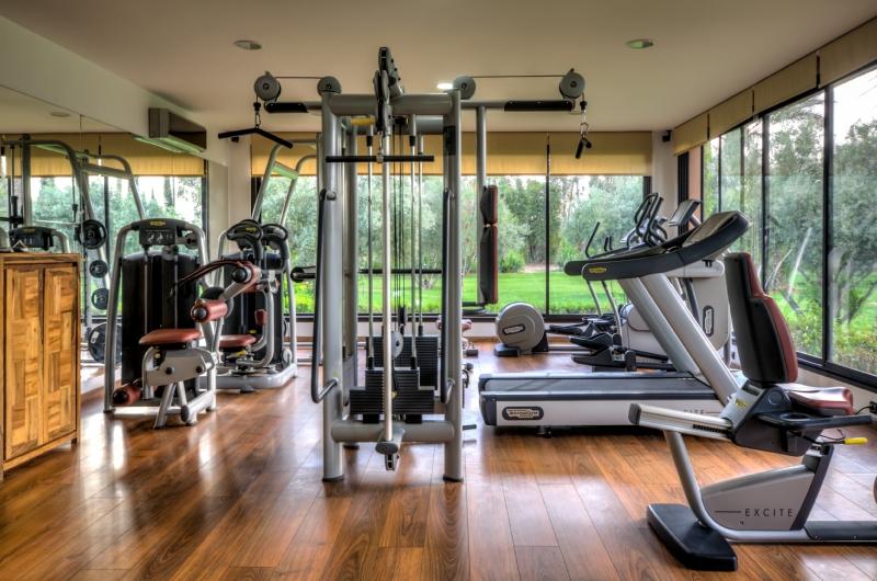 luxury fitness room sports