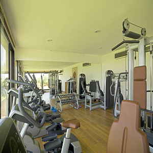Salle sport luxe