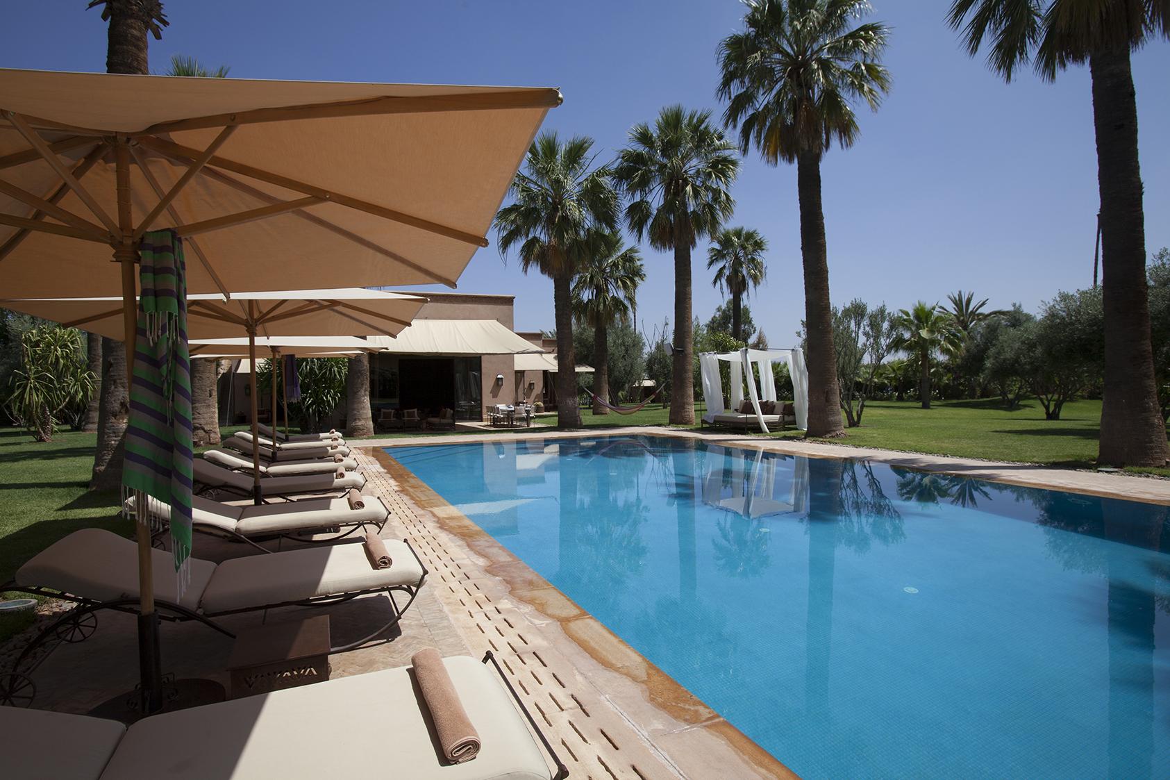 Location villa prestige marrakech galerie photos for Villa marrakech piscine