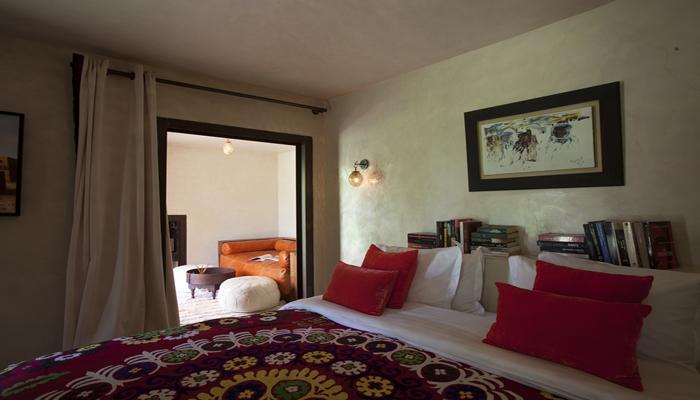 chambre musc de la villa zin en location à Marrakech