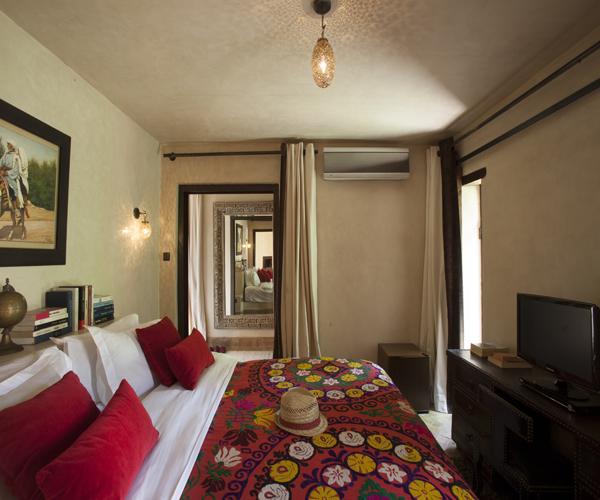 Pavillon Ombre Villa Luxe Marrakech vue intérieur