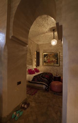 Photo de la salle de bain de la villa de luxe à Marrakech