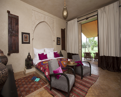 Photo de la suite Quamar villa zin marrakech